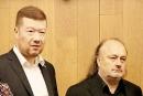 Ladislav Jakl spolu s Tomio Okamurou za jehož stranu SPD kandiduje do Senátu