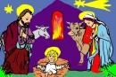 Svatá rodina podle  wehnadskrippe