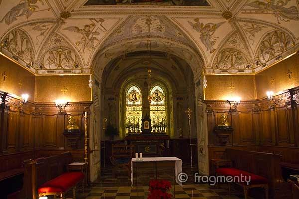 Kaple v Arcibiskupském paláci v Praze
