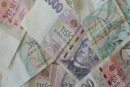 Cena peněz klesá